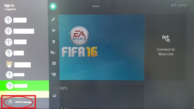 How to log the account on XBOX One - News - FIFA 19 coins , FIFA